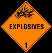 Explosives - nadpis
